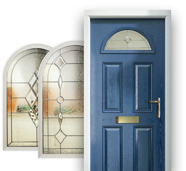 b868ca11d686 All of our glass designs complement our door styles and colours and are  triple glazed for extra security and energy efficiency.